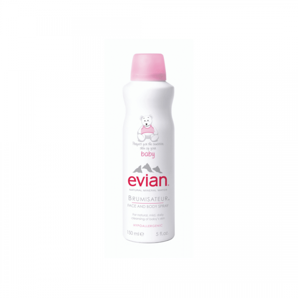 evian natural mineral water 50ml