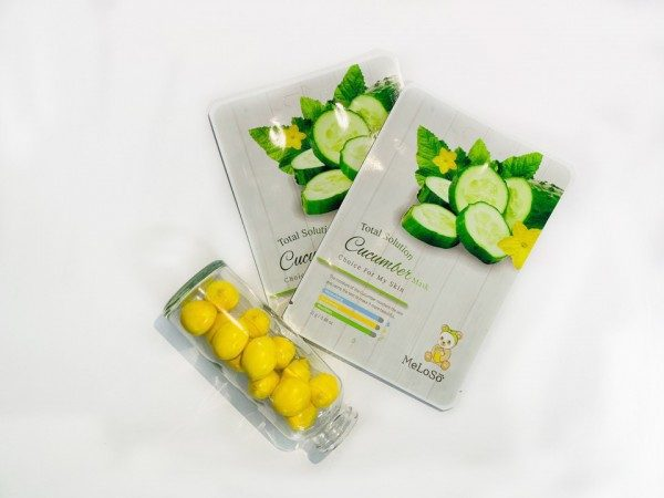 Skin Apple Total Solution Cucumber-Mask