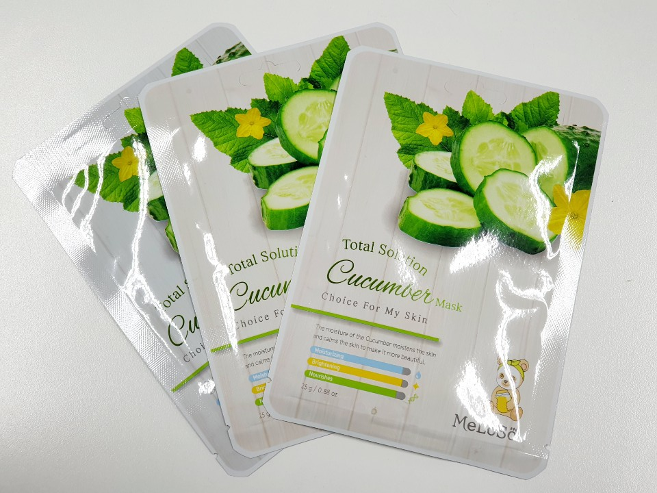 Skin Apple Total Solution Cucumber Mask