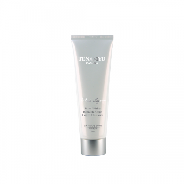 Tenamyd Pure White Refresh Scrub Foam Cleanser