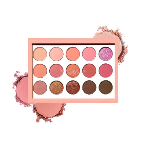 Macqueen 1001 Tone-on-Tone Shadow PaletteCoral Edition