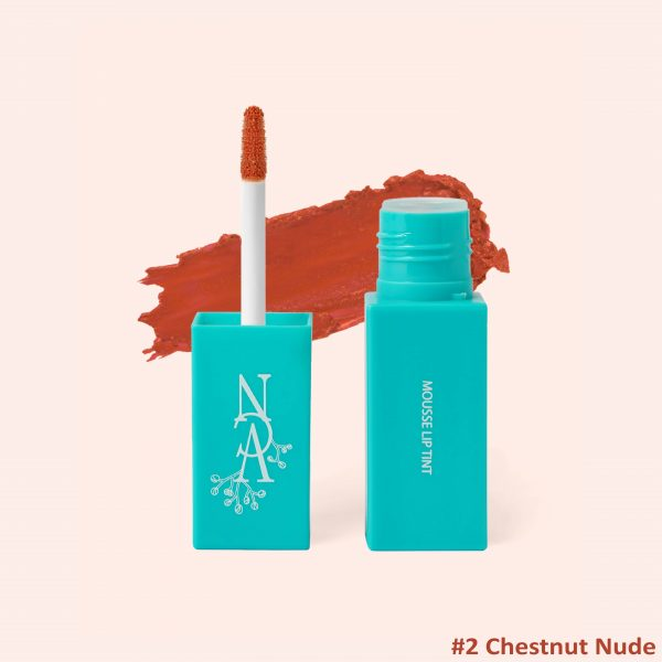 Mousse Lip Tint - 02 Nude