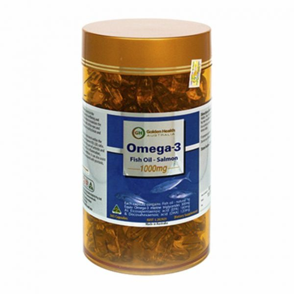 Golden Health Omega 3 Fish Oil-Salmon 1000mg