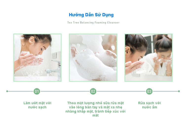 Hdsd Aromatica Tea Tree Balancing Foaming Cleanser