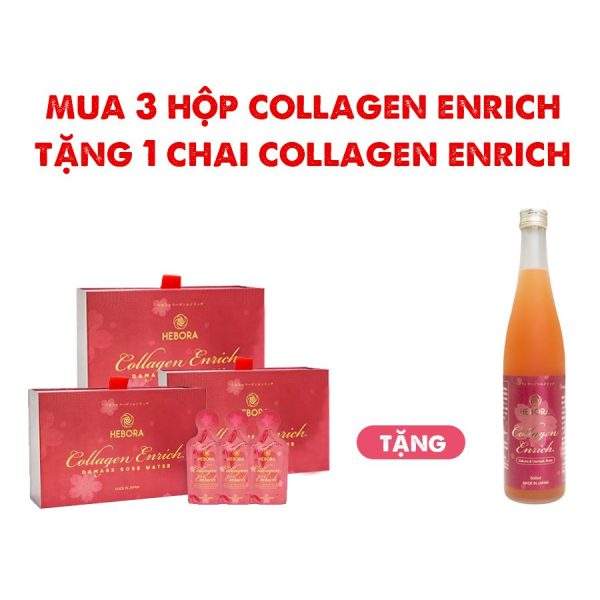 Hebora Collagen Enrich Mua 3 Tang 1
