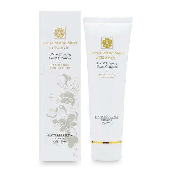 Fresh White Sand Tenamyd UV Whitening Foam Cleanser