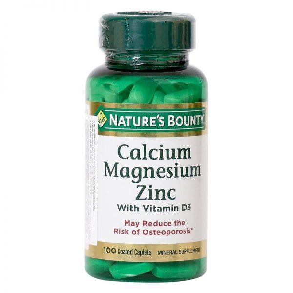 nature-s-bounty-calcium magnesium zinc